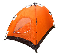 2 Person Instant and Automatic Pop-Up Camping Tent - Orange