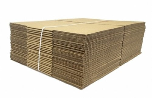 "Lot of 10 CARDBOARD BOXES 25""x8""x4"" CORRUGATED SHIPPING MOVING PACKING SUPPLIES"