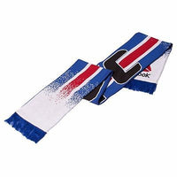 UFC Men's Jacquard USA Flag Scarf One Size Red/White/Blue
