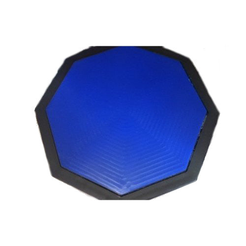 "DRUM PRACTICE PAD - 10""  Silent Rubber Foam Octagon - Percussion NEW"