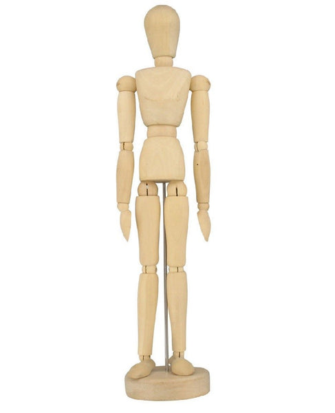 "Human ARTIST MODEL - 12"" inch - Drawing Mannequin Body"