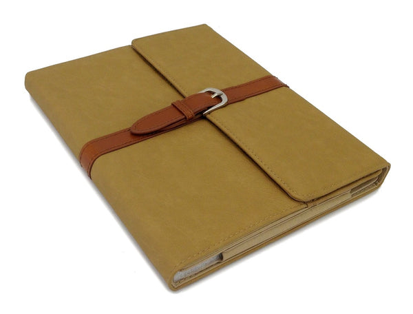 BEIGE LEATHER PU SMART BAG CASE COVER STAND HOLDER FOR APPLE iPAD 2 3