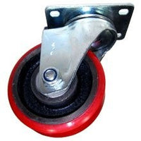 "3"" x 1-1/4"" Swivel Red Rubber"