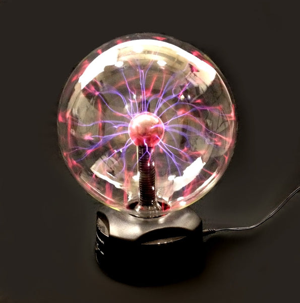 "EDM - 8"" PLASMA Nebula BALL Lightning Party Light TOUCH & SOUND Activated"