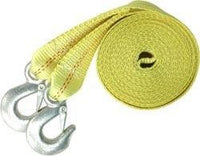 "Heavy Duty 10,000 Lb Tow Strap 2""x20' with Hook"