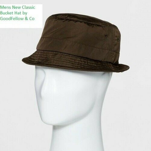 NEW! Men's Classic Lightweight Bucket Hat - Goodfellow & Co™ OLIVE M/L