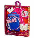 New! Our Generation Deluxe Doll Outfit- Leaps and Bounds Gymnastics Free Shippin