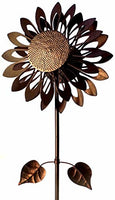 NEW! Southern Patio COS1900789 Sunflower Wind Spinner-73 Tall