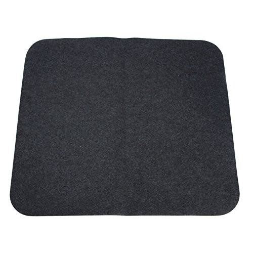 "NEW Charcoal Carpeted Universal Floor Trunk Cargo Liner Mat 37""X34"" OEM QUALITY"