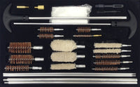 Universal Shotgun Cleaning Kit 12 gauge,  Rifle,  Handgun Cleaning kit Brushes with Case, 126 pcs Gun Cleaning Kits for all Guns, 9mm, AR15 Cleaning Tools