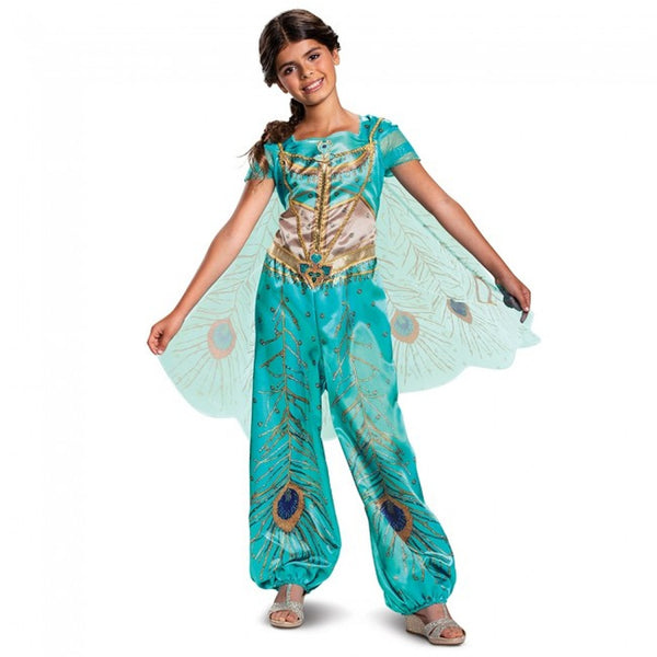 DISGUISE LICENSED COSTUME - Alladin Jasmine - M 7-8