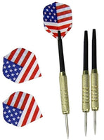 Set of 6 High Quality Steel Needle Tip Darts with Customized Dart Flights