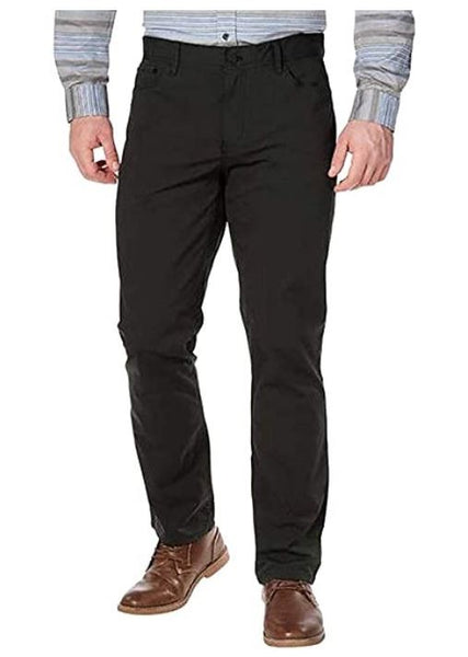 English Laundry Men's Walker Pants 5-pkt BLACK 32X34