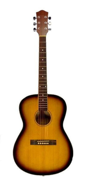 "40"" Inch Full Size Sunburst Handcrafted Steel String Dreadnought Acoustic Guitar"