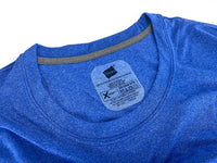 Hanes Men's 2-Pack Blue/Grey XL Performance Cool X-Temp Crew Neck T-Shirts