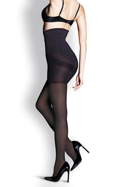 MaidenForm Womens Black XL Shaping Tights High Waist Sweet Nothings