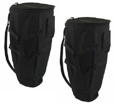 Set of Two - Deluxe Thick Padded CONGA Gig BAG 13.5""