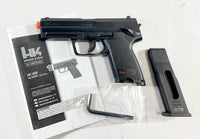 H&K USP CO2 Airsoft Pistol Black Refurbished Heckler & Koch 6mm Air Gun (Refurbished - Like New Condition)