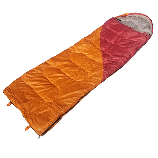 Lightweight 3.6 lb. Mummy Sleeping Bag, Backpacking Sleeping Bags for Adults and Kids Suitable for Camping, for Hiking Traveling, and Outdoors +10 deg F. rated; Free Compression Sack