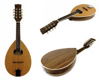 "MANDOLIN - A Style - 8 String - Teardrop with Oval Soundhole 24.5"" Long - NEW"