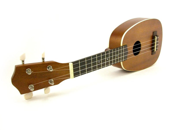 "21"" UKULELE - SOPRANO UKE - PINEAPPLE Shape Beginner-Pro Quality GUITAR NEW"