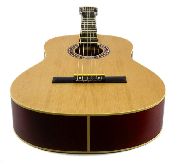 "39-40"" ACOUSTIC GUITAR - NATURAL SPRUCE Classical NYLON Strings Student Beginner"