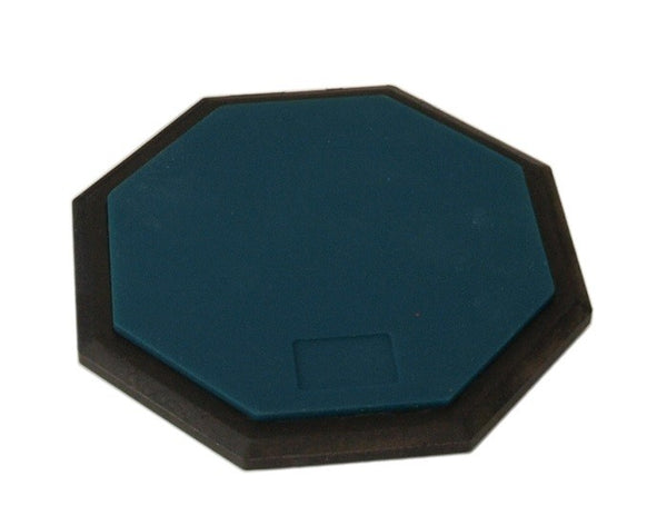 "8"" PRACTICE Drum PAD Silent Rubber Foam Octagon Percussion Green"