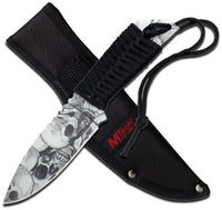 Mtech USA MT-610GY Fixed Blade Knife (8.5-Inch Overall) Multi-Colored
