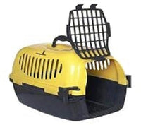 NEW PET TENT CARRIER - SECURE PLASTIC TRADITIONAL CAGE