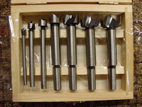 "Lot OF 2 - 7 Piece FORSTNER DRILL BIT SETS 1/4"" - 1"" BITS Wood Case"