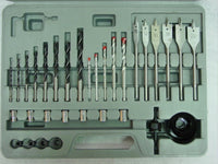 NEW DRILL BIT SET - 101 piece COMBO KIT TITANIUM + CASE
