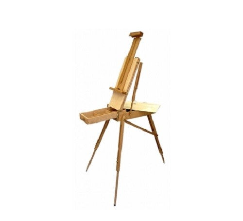 Zen Art Supply FRENCH ARTIST EASEL WOODEN Portable FOLDING Tripod TYPE Storage