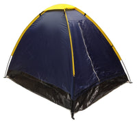 2 Person Dome Camping Tent - 7x5' - 2 Person with Sealed Bottom - Navy Blue