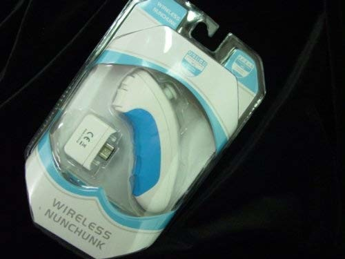 Wii WIRELESS NUNCHUCK w. GRIP - Internal Battery NEW