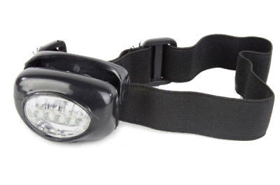 5 LED HEADLIGHT Headlamp Hat Lamp Light - Emergency Flashlight Safety Bicycle
