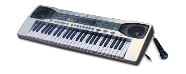 49 Key Electric Keyboard Electronic Piano Organ Music Microphone Recording