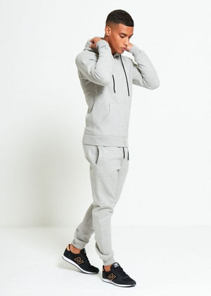 Aahron 'Essentials' Grey Full Zip Tracksuit
