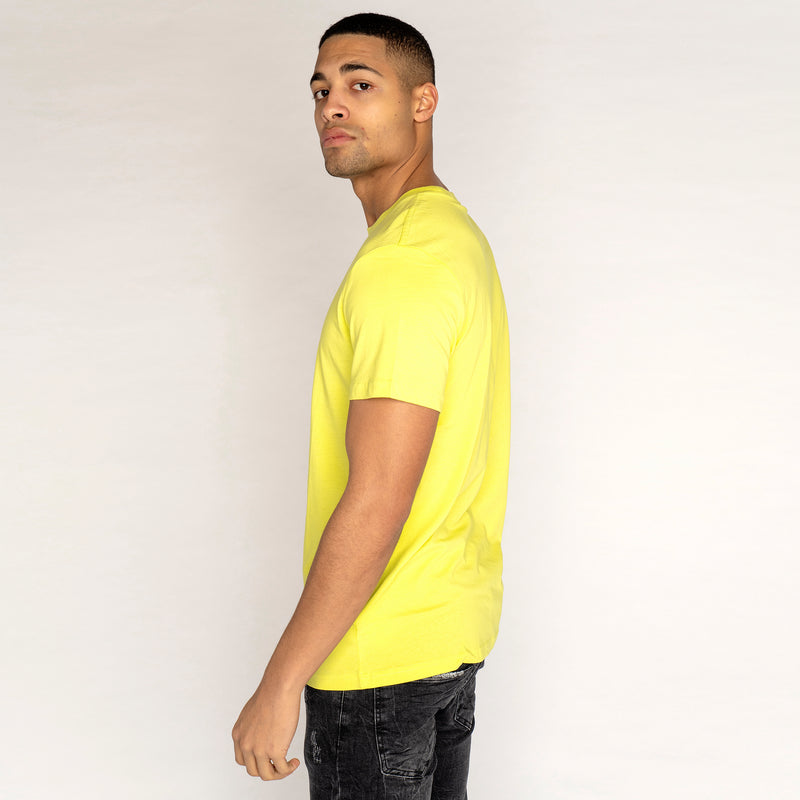 Weekday Alan T Shirt Yellow (LARGE ONLY)