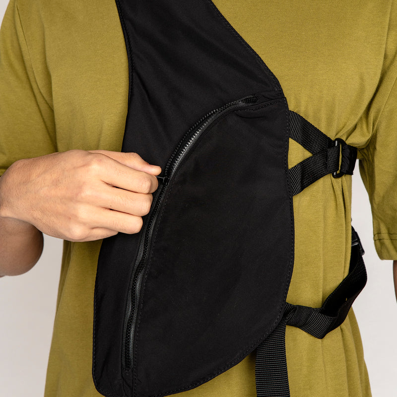 Design Black Utility Harness Bag
