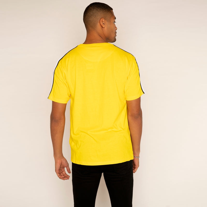 Future Noir Large Logo Yellow T Shirt (SMALL ONLY)