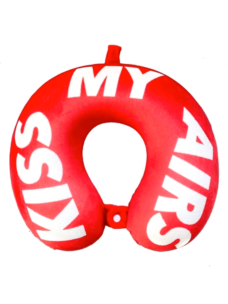 KISS MY AIRS MEMORY FOAM NECK PILLOW