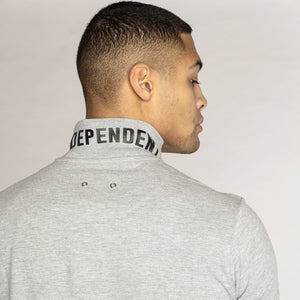 Independent Leaders Agueda Grey Polo Shirt