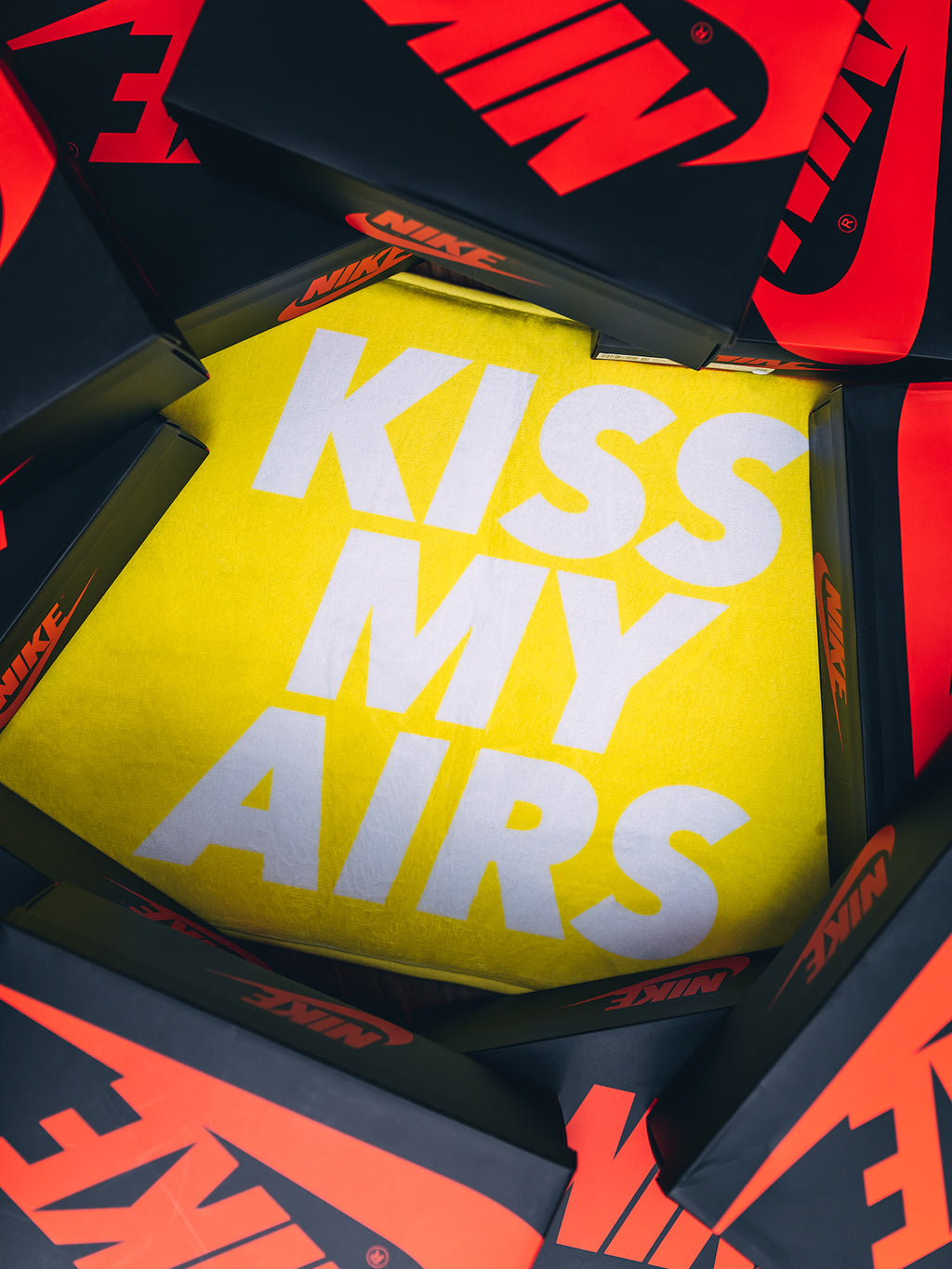 KISS MY AIRS LAGUNA YELLOW