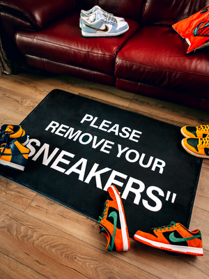 "PLEASE REMOVE YOUR ""SNEAKERS"" LARGE"