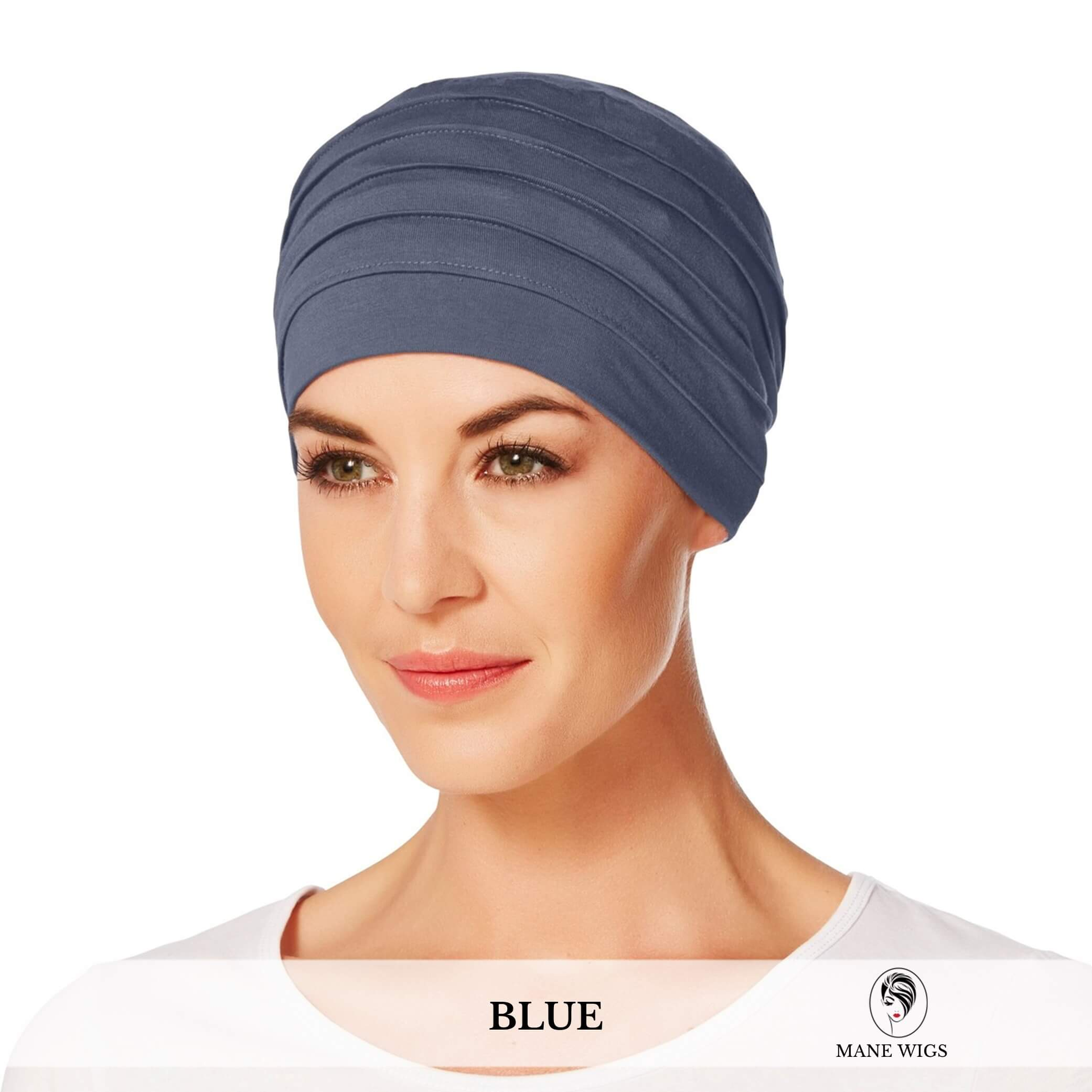 Christine Headwear Yoga Turban 168-Blue