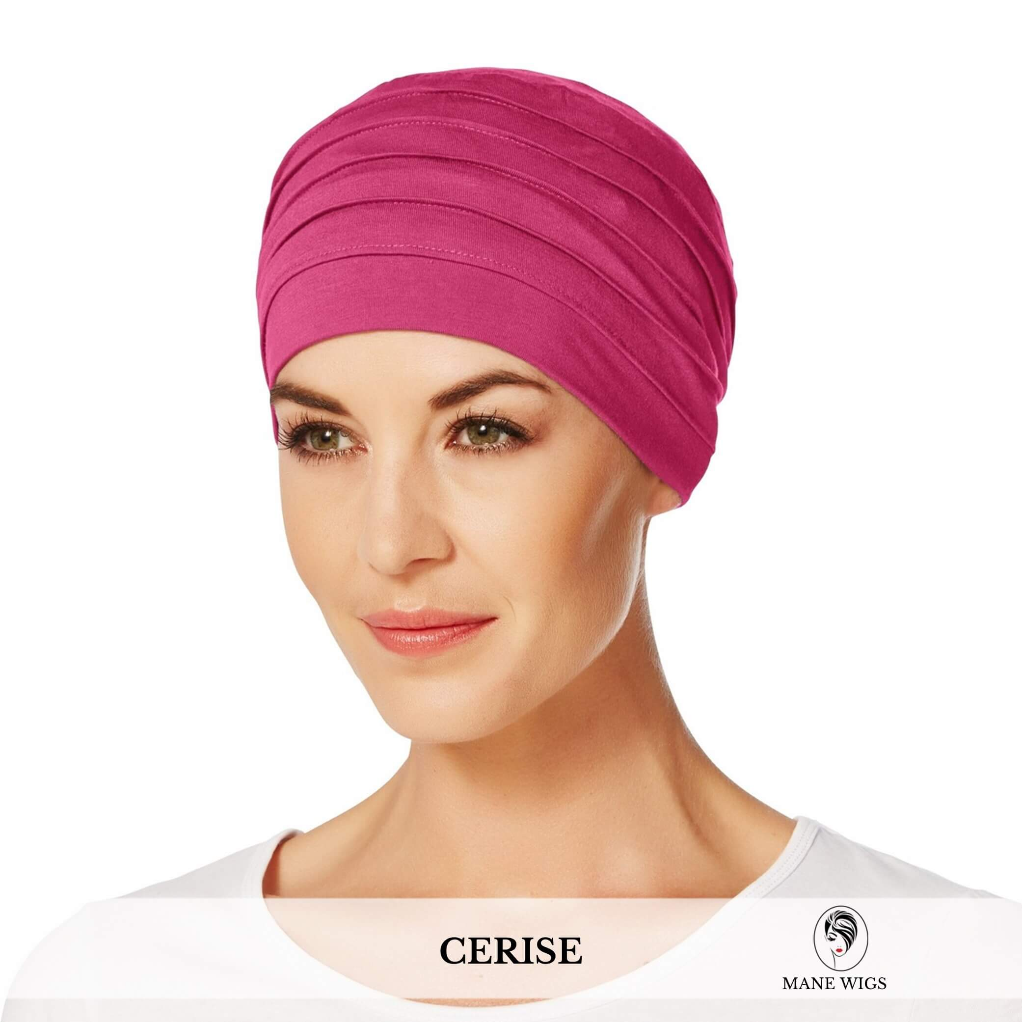 Christine Headwear Yoga Turban 254-Cerise