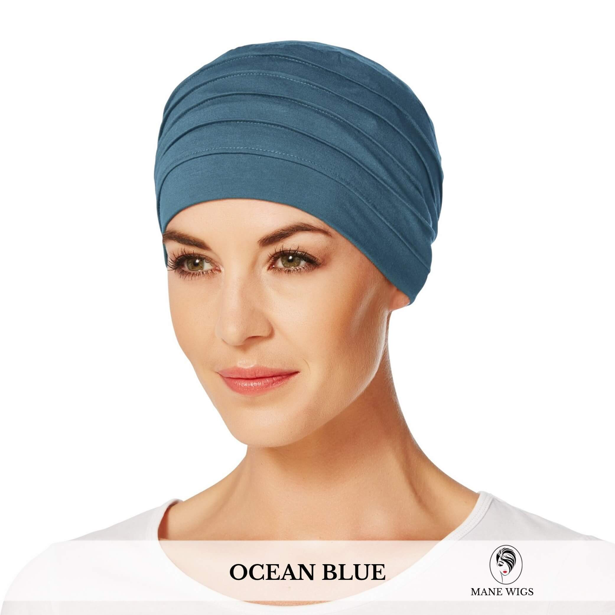 Christine Headwear Yoga Turban 295-Ocean Blue