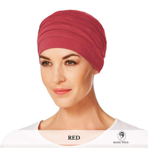 Christine Headwear Yoga Turban 361-Red