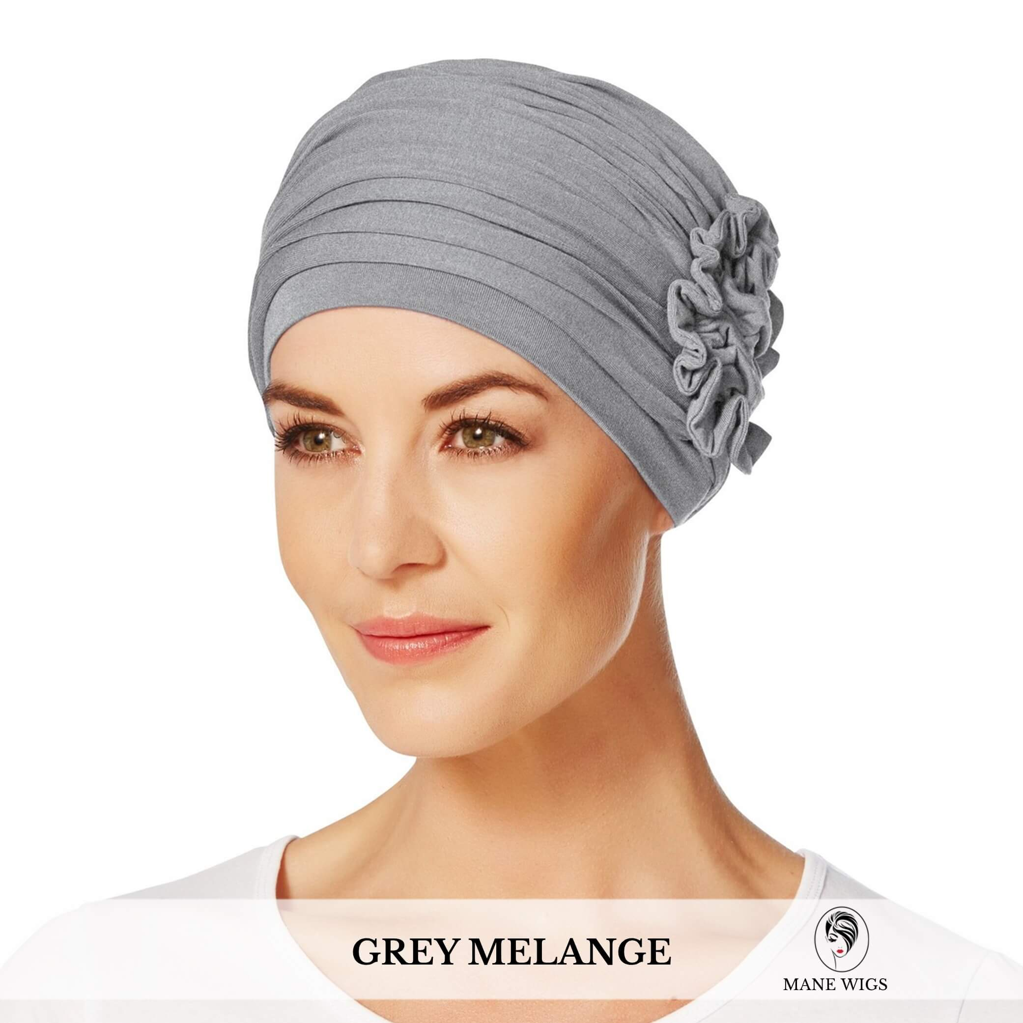 Christine Headwear Lotus Turban 169-Grey Melange
