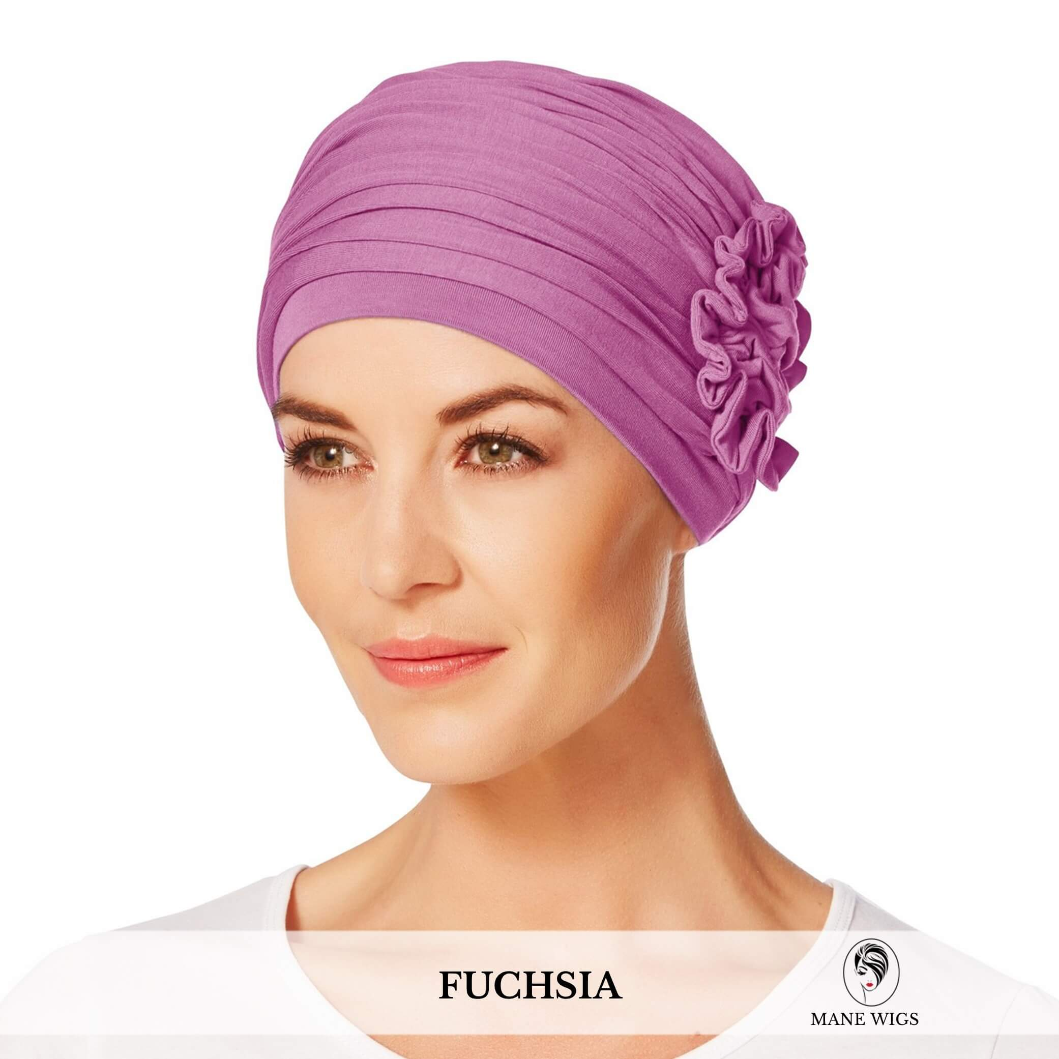 Christine Headwear Lotus Turban 174-Fuchsia